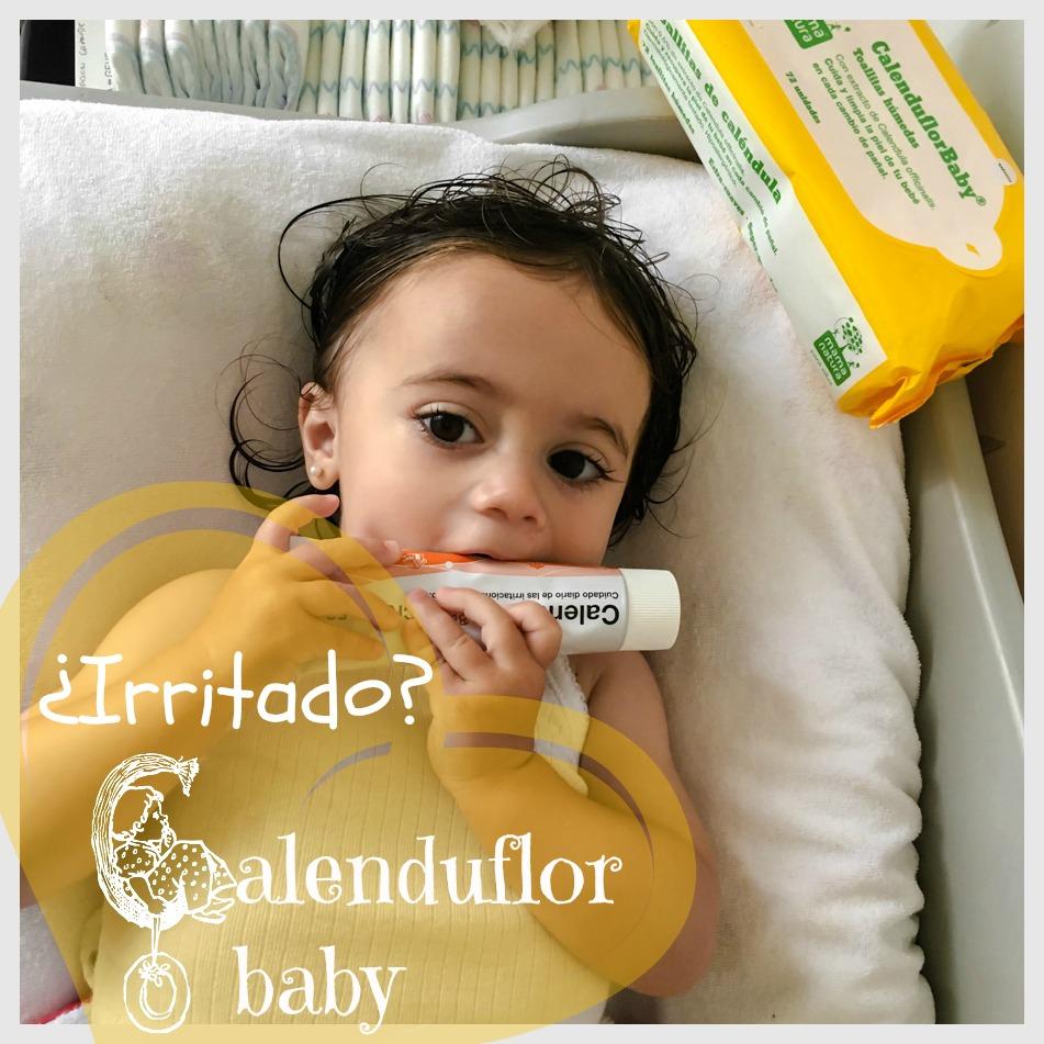 IRRITADO-CALENDUFLOR-BABY, persistencia o cambio, mar vidal, la casa de mar, crema irritación, bebe, baby, culo bebe, kids, niños, cuidado diario, maternidad