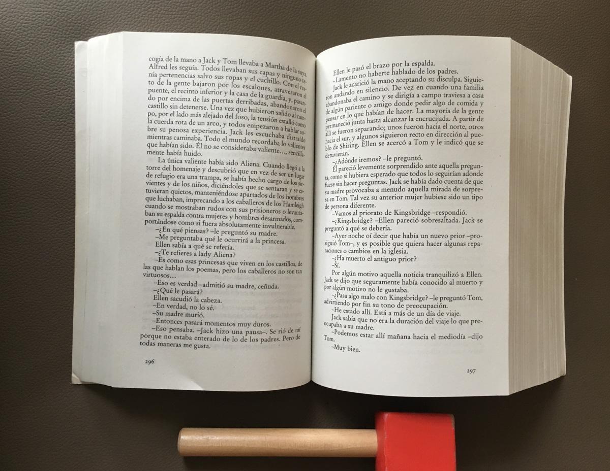 los-pilares-de-la-tierra-ken-follett, novela, literatura, lectura, libro de la semana, mar vidal, persistencia o cambio, la casa de mar