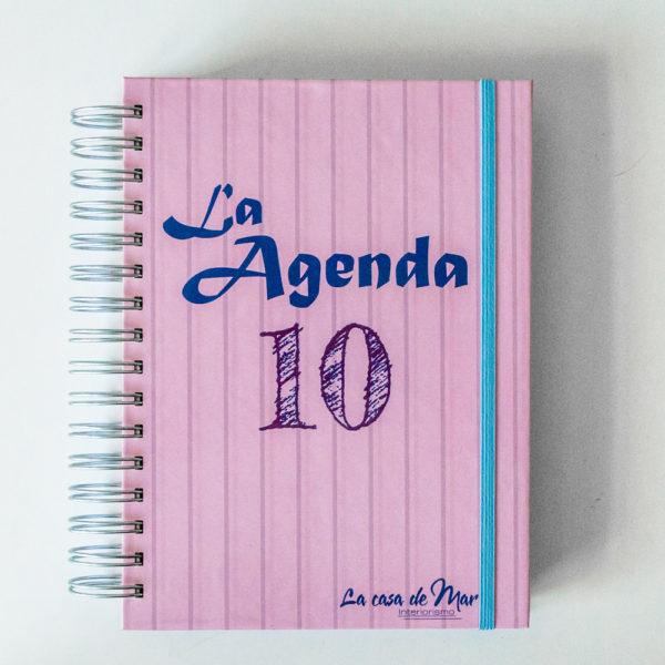 LA-AGENDA-10, LA CASA DE MAR, INTERIORISMO, ORDEN, ORGANIZACION, AGENDA, BULLET JOURNAL, AGENDA 2108, PAPELERIA, DIY