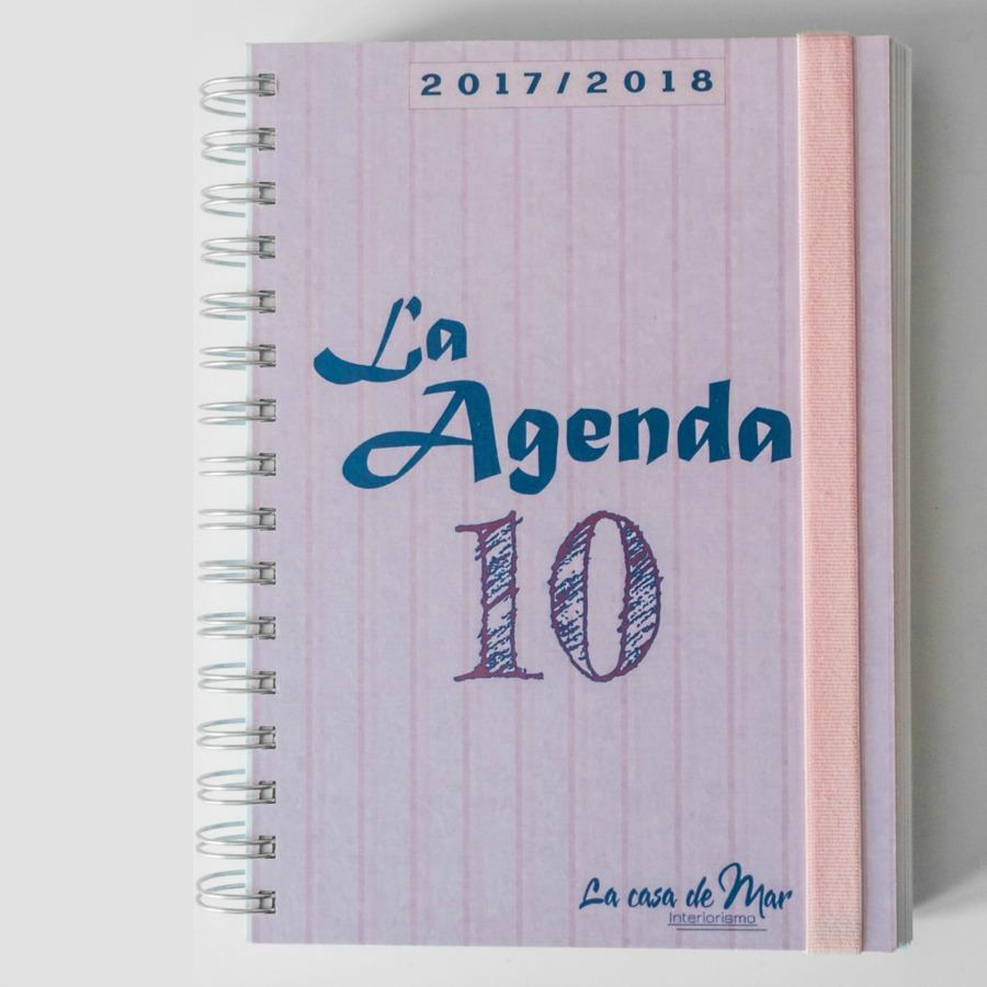 AGENDA, BULLETJOURNAL, JOURNAL, LA AGENDA 10, LA CASA DE MAR, MARVIDAL, PAPELERIA