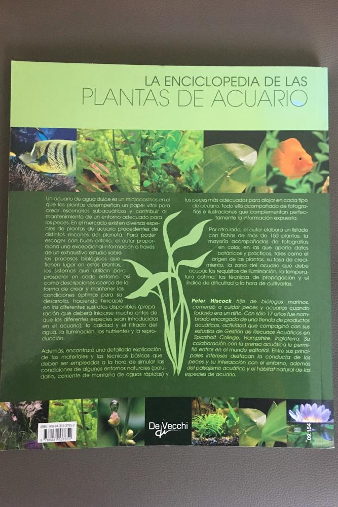 PLANTAS ACUARIO, ENCICLOPEDIA-DE-LAS-PLANTAS-DE-ACUARIO-PETER-HISCOCK, MAR VIDAL, LA CASA DE MAR, INTERIORISMO ORDEN Y ORGANIZACION, ACUARIO, ACUARIOFILIA, ANIMALES, HOBBYS, TIEMPO LIBRE, OCIO
