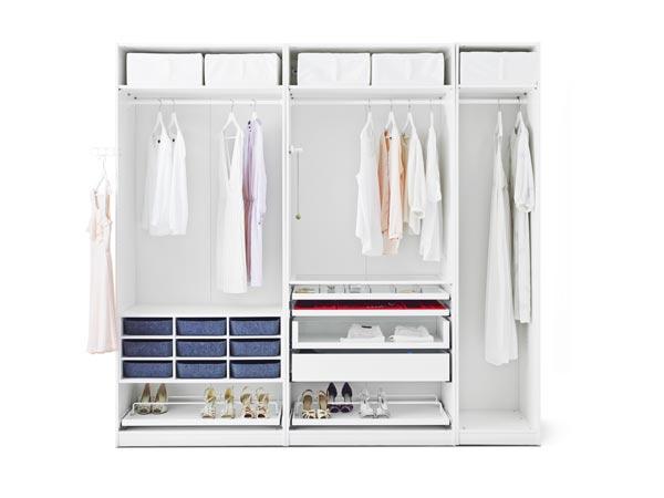 Claves para realizar el cambio de armario en menos de dos for Ikea interior armarios