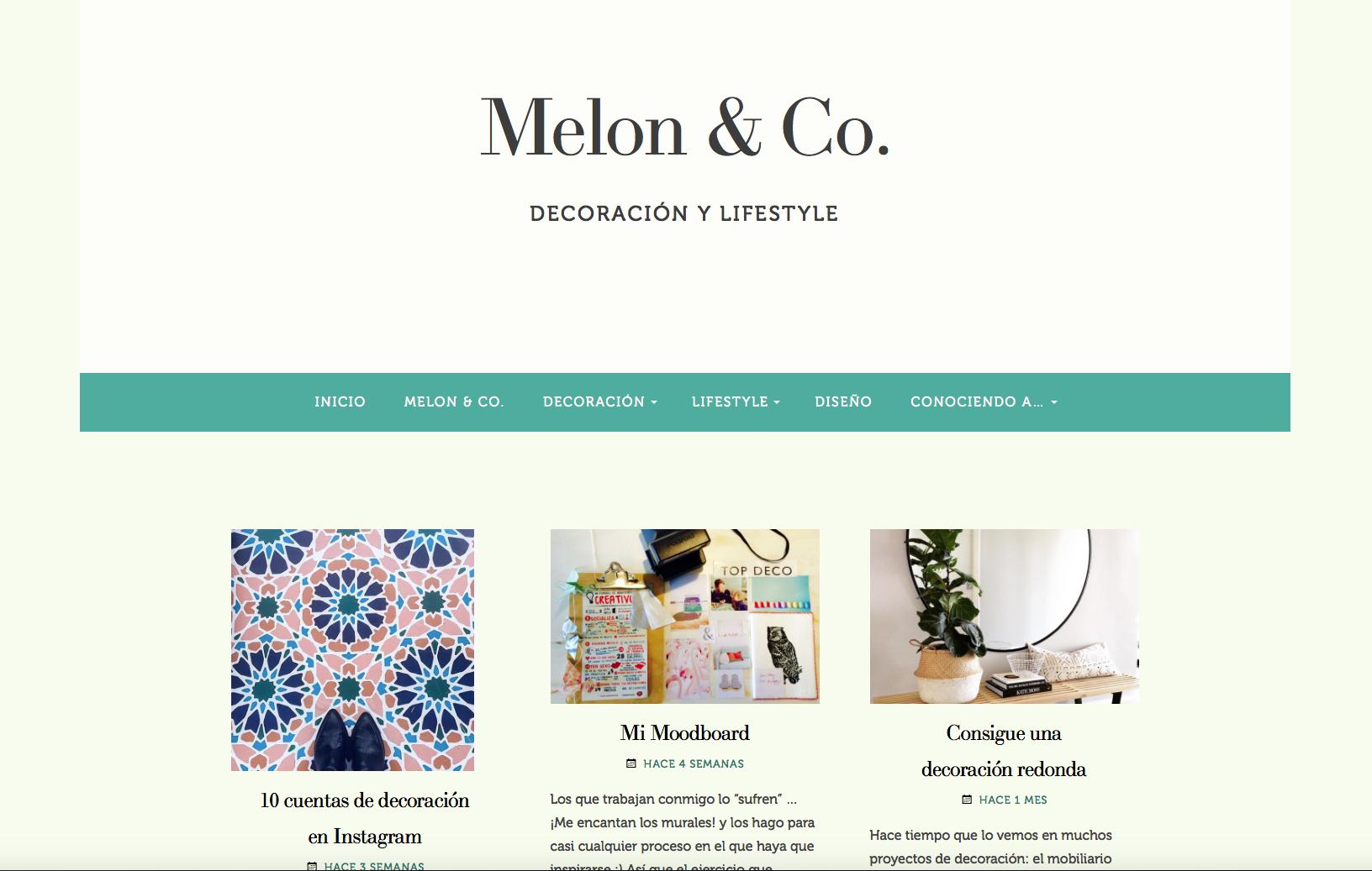 melonandco, blogs que seguir, persistencia o cambio, mar vidal, decoración, tiendas deco