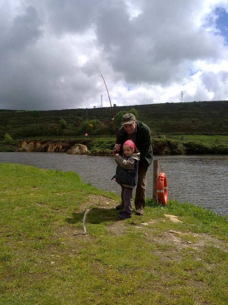 un-dia-de-pesca-en-el-arenero, mar vidal, mavi vidal, persistencia o cambio, pesca, tiempo libre, ocio, truchas