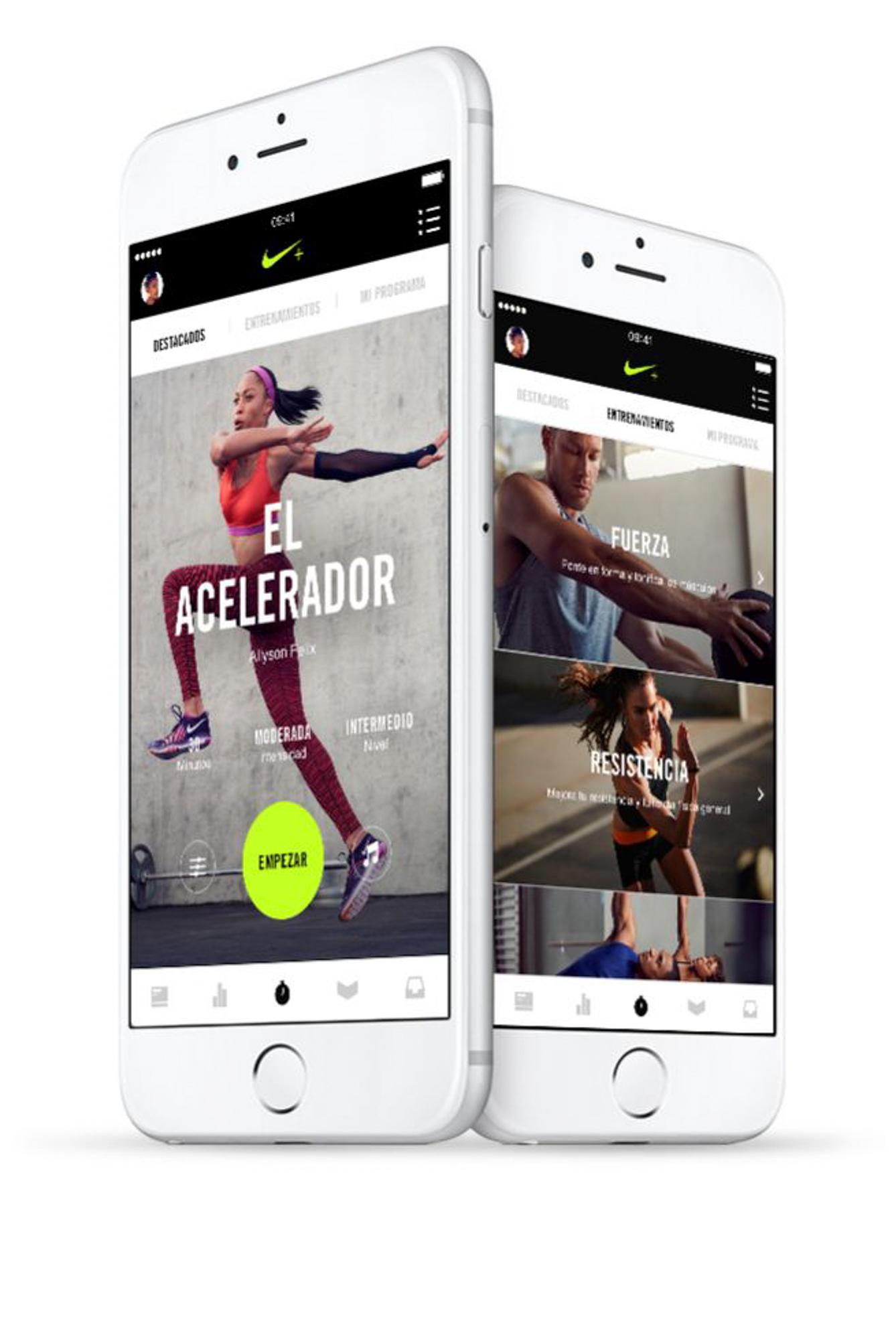 formal Norma Influencia  Nike Training: Mi entrenador personal -