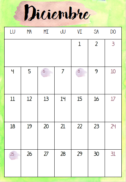 Calendario 2017 2018 Descargable Para Tu Orden La Casa De Mar